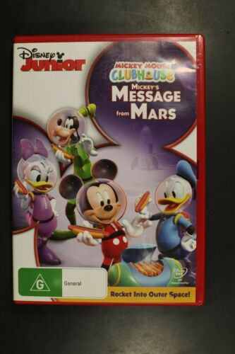 Mickey Mouse Clubhouse Message From Mars - (R4) (D384)