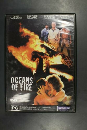 Oceans of Fire - David Carradine Billy Dee Williams -   Pre-Owned (R4) (D385)