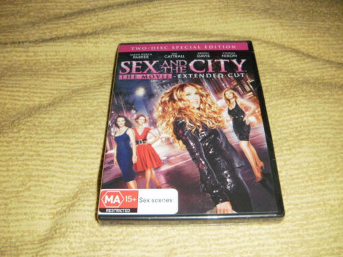 SEX AND THE CITY : THE MOVIE comedy 2008 = 2 DVD NEW & SEALED off TV Season R4