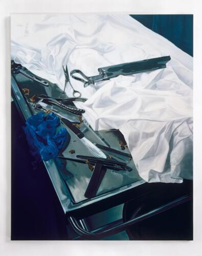 Damien Hirst Exhibition Poster Dissection Table with Tools  Unsigned 39x27
