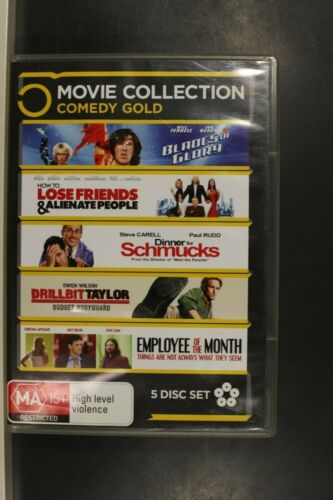 5 Movie Collection Comedy - Pre Owned (R4) (D394)