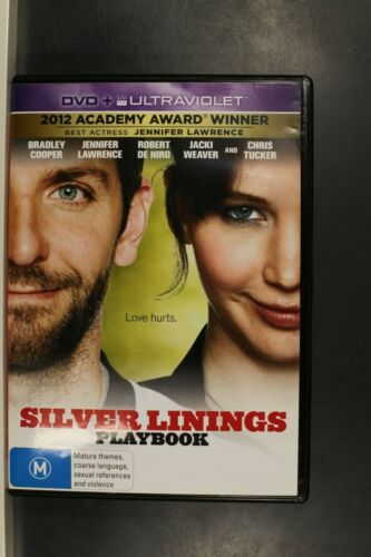 Silver Linings Playbook (Jennifer Lawrence)-  Pre Owned (R4) (D395)