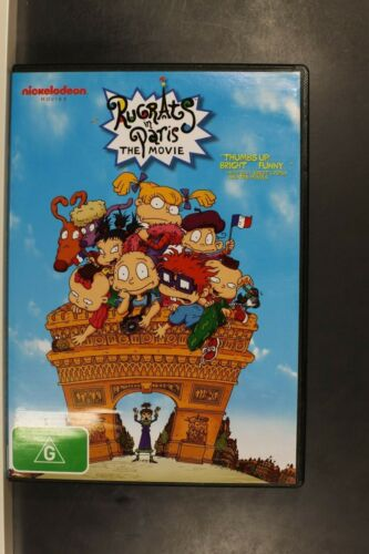 Rugrats in Paris: The Movie-  Pre Owned (R4) (D409)