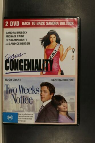 Miss Congeniality / Two Weeks Notice -   Pre Owned (R4) (D410)