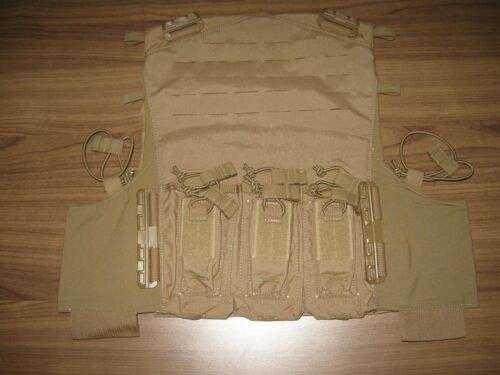 FirstSpear AAC plate carrier front panel pistol rifle mag pocket L/XL coyote AmOther Current Field Gear - 36071