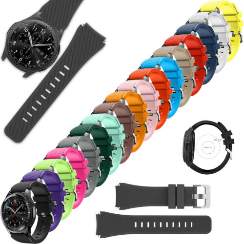 Samsung Galaxy Watch 46mm Band Silicone Strap Replacement Bands new <br/> BUY 1, GET 1 20% OFF (Limited Time Offer) - USA SELLER