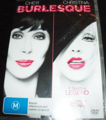 Burlesque (Cher / Christina Aguilera) (Australia Region 4) DVD – New