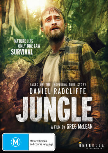 JUNGLE ( DANIEL RADCLIFFE ) DVD NEW AND SEALED