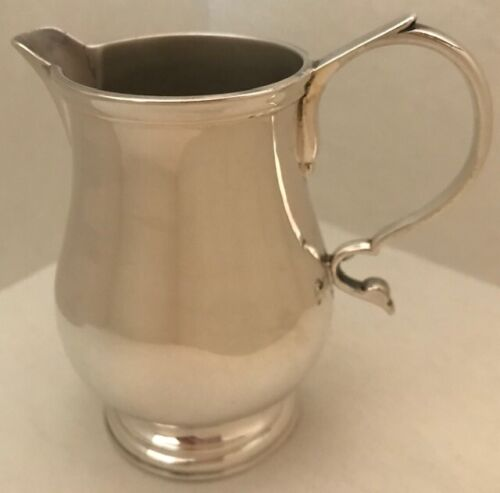 COLONIAL WILLIAMSBURG STIEFF STERLING SILVER RT-33 CREAMER