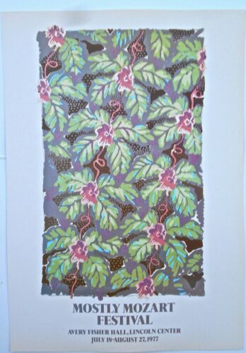 Friedel Dzubas for 1973 Community Holiday Festival  Offset Lithograph 16x11 LC