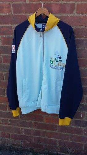 Men's LRG Trackie Top / Sports Jacket Pale Blue  LARGE urban