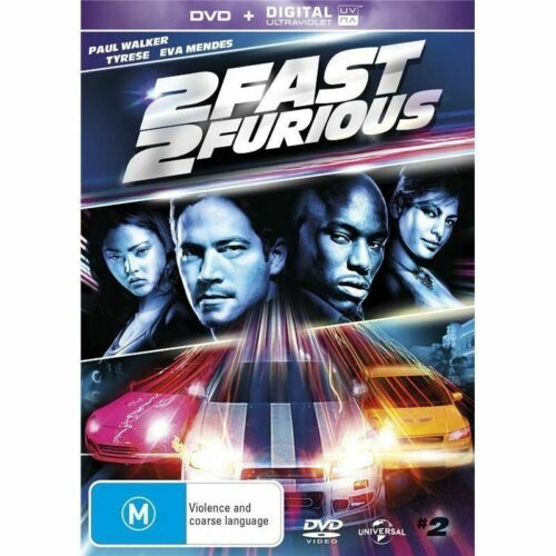 2 Fast 2 Furious  - New Sealed R4 -(D434)