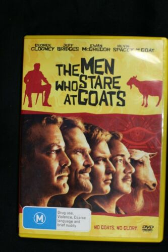 The Men Who Stare At Goats (DVD, 2010) George Clooney -Pre Owned -R4-(D438)