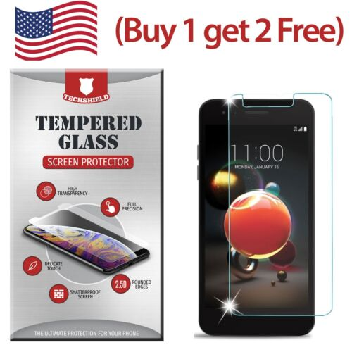 Clear HD Tempered Glass Film Screen Protector For LG Rebel 3 LTE L158VL