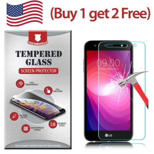 Clear HD Tempered Glass Film Screen Protector For LG X Charge M327