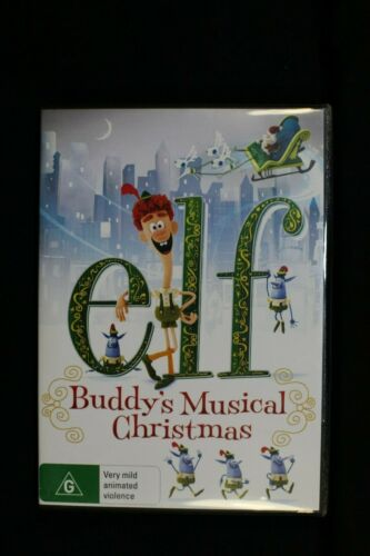 ELF - Buddy's Musical Christmas - Pre Owned - R4 -(D449)(D161)