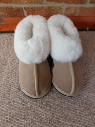 KARU Genuine Sheepskin & Lambswool Slippers