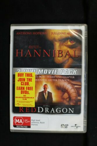 Hannibal &  Red Dragon - - Pre Owned - R4 (D454)(D456)