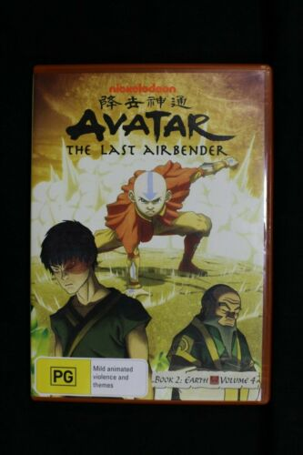 Avatar -The Last Airbender - Earth Book 2 : Vol 4  - Anime  -Pre Owned R4 (D279)