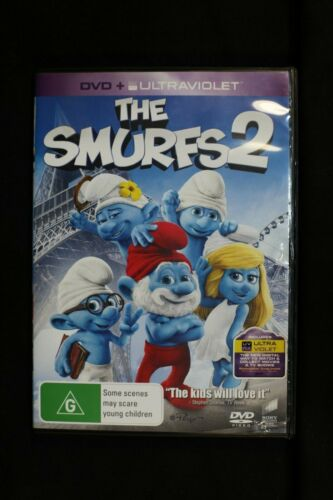 The Smurfs 2 (DVD, 2014) regions 2,4,5- Pre Owned R4(D61)