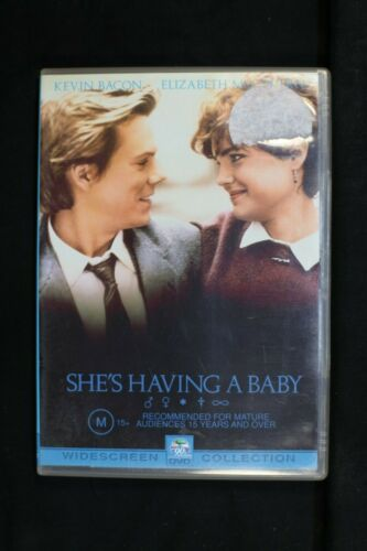 She's Having A Baby (DVD, 2002)Kevin Bacon- Pre Owned - R4- (D173)