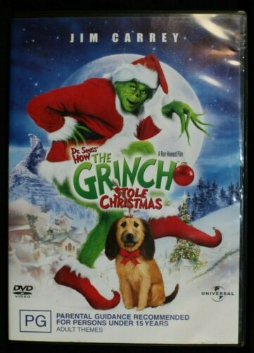 The Grinch (2000) a.k.a. Dr. Seuss' How the Grinch Stole -  Pre Owned R4  (D262)