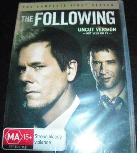 The Following (Kevin Bacon) Complete First Season 1 (Aust Region 4) DVD – New