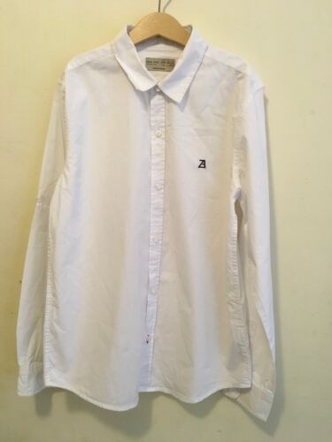 ZARA Boys Shirts Size 11-12 Years  As New Condition White