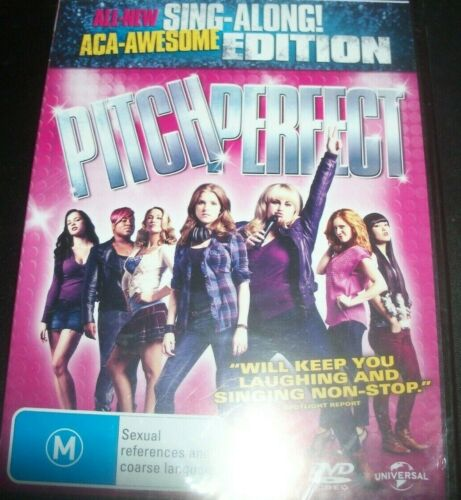 Pitch Perfect Sing-Along Edition (Aust Region 4) DVD - New
