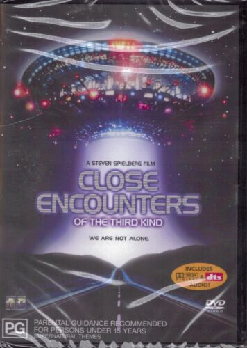 CLOSE ENCOUNTERS OF THE THIRD KIND DVD Steven Spielberg NEW & SEALED Free Post