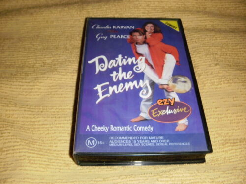rare DATING THE ENEMY comedy 1996 VHS TAPE Claudia Karvan romance PAL VIDEO