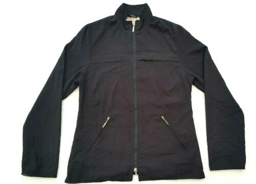 Barbour Womens Size 8 Black Jaket Coat Full Zip Lightweight Fitted Casual