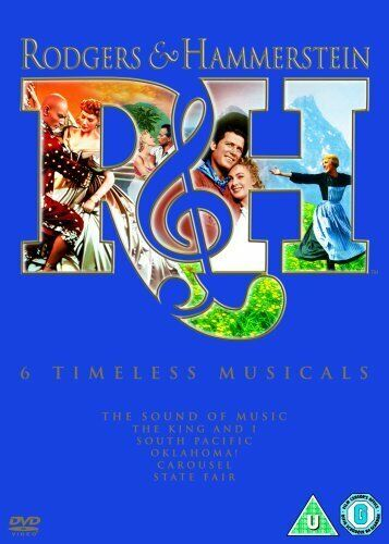 Rodgers and Hammerstein Collection DVD Box Set R4 New Sealed