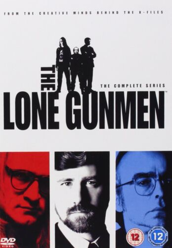 The Lone Gunmen: The Complete Series DVD New Sealed