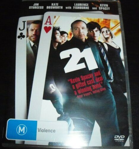 21 Twentyone (Kevin Spacey Jim Sturgess) (Australia Region 4) DVD - NEW