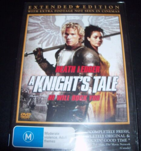 A Knight's Tale (Heath Ledger) (Australia Region 4) DVD – New
