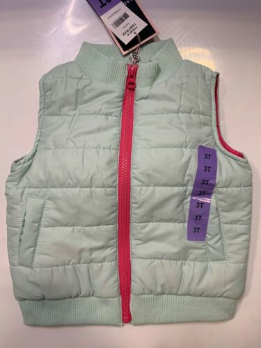 NEW ANDY & EVAN BABY GIRLS ZIPPER VEST WITH POCKETS