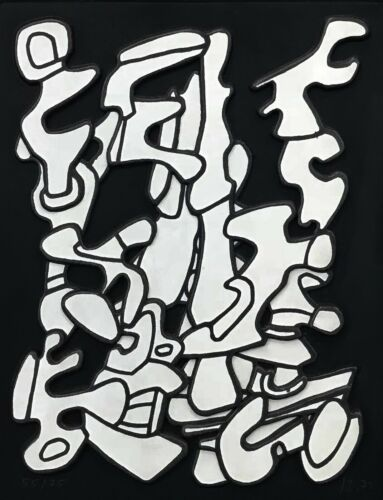 "JEAN DUBUFFET ""ARBORESCENSES I"" 1972 
