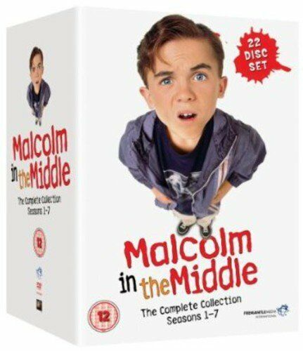 Malcolm In The Middle Complete Collection Seasons 1 - 7 DVD Box Set Clearance