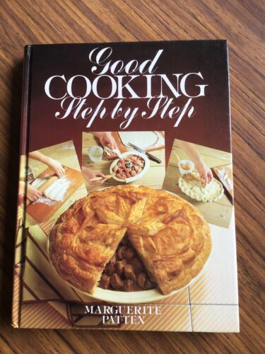 good cooking step by step by MARGUERITE PATTEN hc 1979 vintage great condition