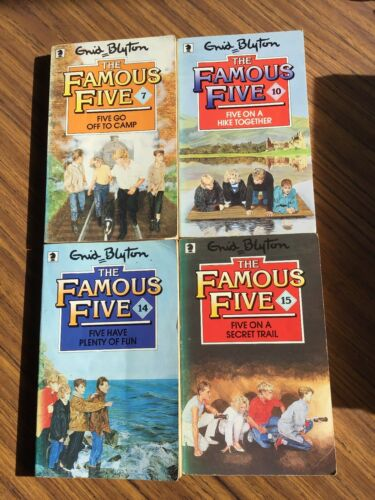 Enid Blyton Famous Five: bundle of 41987 young adult mystery novel
