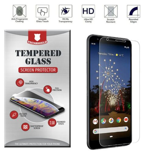 For Google Pixel 3A 3 2 XL [Bubble Free] Tempered Glass Screen Protector Film