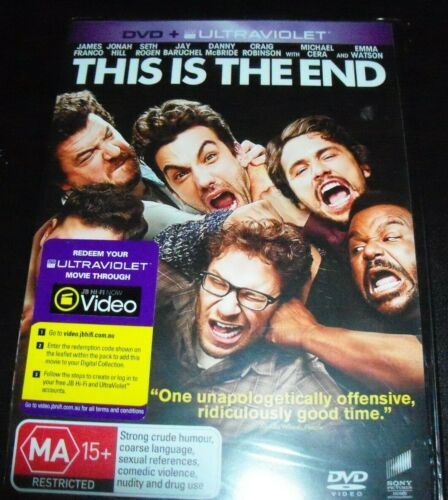 This Is The End (James Franco Jonah Hill) (Australia Region 4) DVD - NEW