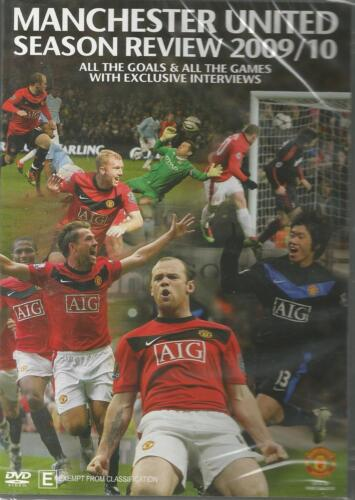 MANCHESTER UNITED SEASON REVIEW 2009/10 DVD BRAND NEW SEALED