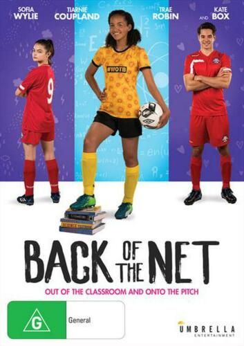 BACK OF THE NET DVD REGION 4 NEW AND SEALED