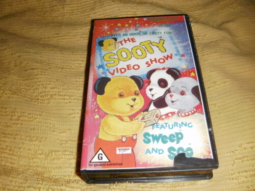 The Sooty Video Show comedy 1982 VHS TAPE family kids VIDEO PAL