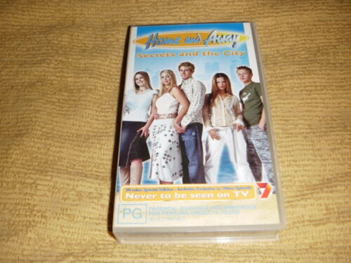 HOME AND AWAY Secrets And The City 2002 VHS TAPE Australian TV Show VIDEO PAL