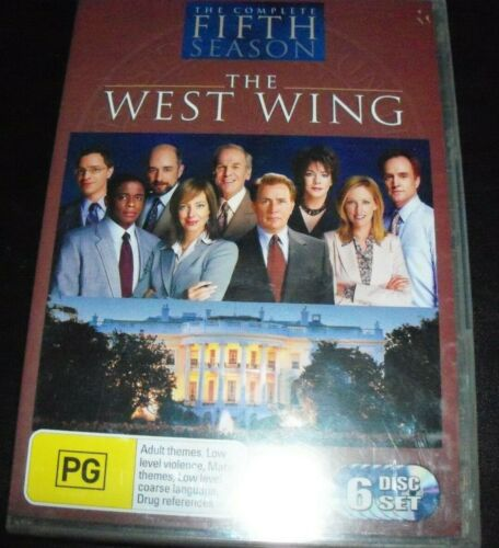The West Wing The Complete Fifth Season 5 (Australia Region 4) DVD – New