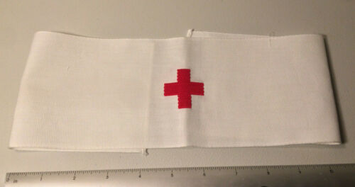 """2 Surplus Military Medical Red Cross Armband New   20"""" X 4"""" Other Militaria (Date Unknown) - 66534"""