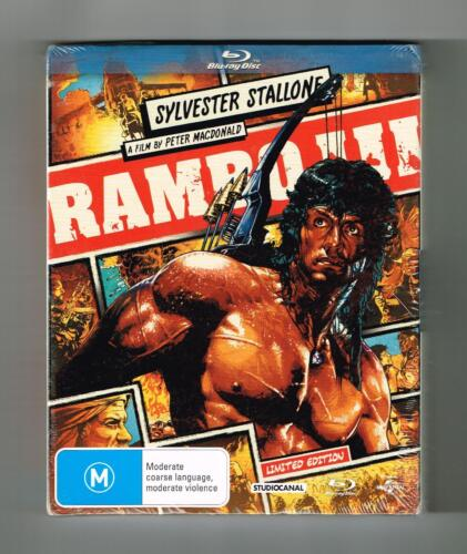 Rambo - First Blood III (Limited Edition) Blu-ray Brand New & Sealed